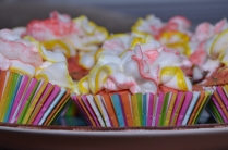 Fruity Pebbles Gluten Free Cupcakes