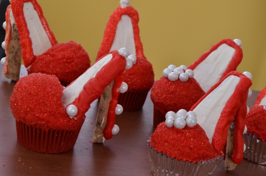 Red Velvet Cupcake Shoes