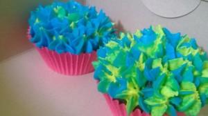 Very vibrant hydrangea