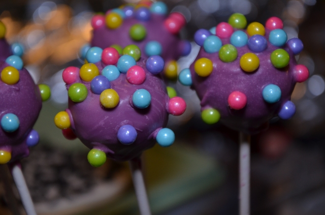 Willy Wonka Cake Pops
