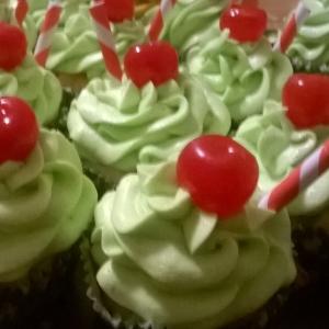 Gluten-Free Mt. Dew cupcakes!