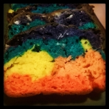 #Gluten-Free #Rainbow #Bread! Available to order @ By Grace Cakes in Bay City, MI Only 7.99 per loaf.