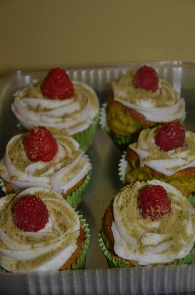 Gluten Free Green Tea Cupcakes