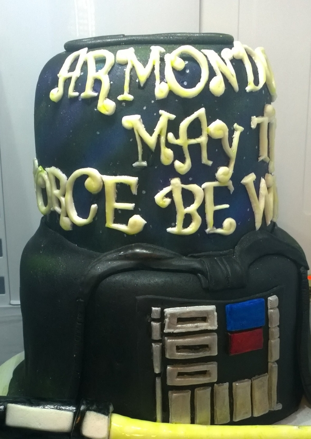 Star Wars Glow In The Dark Cake By Grace Cakes